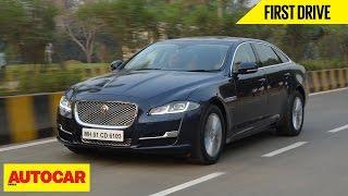 Download 2016 Jaguar XJ | First Drive | Autocar India Video