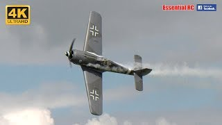 Download GLORIOUS RC SOUND from 6 MOKI RADIAL GIANT SCALE WARBIRDS FW190s, CORSAIR, P-47s [*UltraHD and 4K*] Video