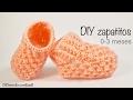Download Zapatitos de bebe 0-3 meses tejidos a dos agujas paso a paso Video