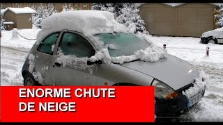 Download chute de neige record en ville ! Video