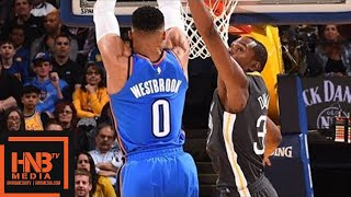 Download Golden State Warriors vs Oklahoma City Thunder Full Game Highlights / Feb 6 / 2017-18 NBA Season Video