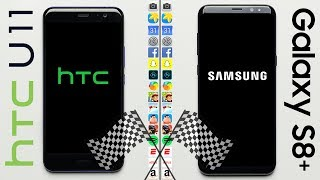 Download HTC U11 vs. Galaxy S8+ Speed Test Video
