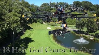 Download Golf Course 18 Hole Interactive Drone Flyover Video