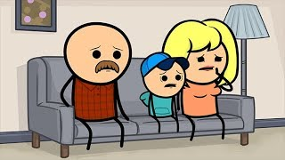 Download Ladder: Part 3 - Cyanide & Happiness Shorts Video