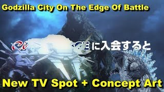 Download New TV Spot + New Concept Art - Godzilla City On The Edge Of Battle News and Updates Video