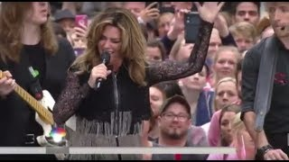 Download Shania Twain - Swinging With My Eyes Closed (Live, Today Show) Video