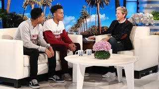 Download Ellen Meets Viral College Acceptance Brothers Video