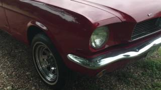 Download 1966 Ford Mustang Fastback Startup!! Video