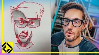 Download Can You Draw Someone Without Looking Challenge Video