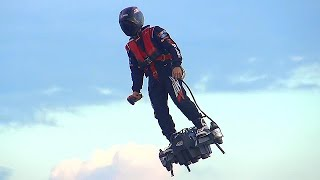 Download Zapata Flyboard Air - World's First Jet Hoverboard Video