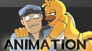 Download Chica and the Night Guard - Poker Face [FNAF Animation MV] Video