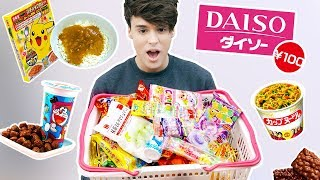 Download i only ate JAPANESE DOLLAR STORE foods for a day !!! Video