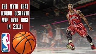 Download The myth that Lebron James deserved MVP over Derrick Rose in 2011 Video