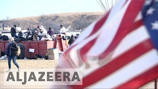 Download North Dakota pipeline protesters told to leave Video