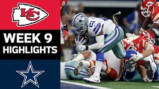 Download Chiefs vs. Cowboys | NFL Week 9 Game Highlights Video