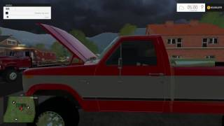 Download Towing a broke down truck! Farming simulator 2015! Video