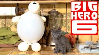 Download Disney's Big Hero 6 - Baymax (Cute Kitten Version) Video