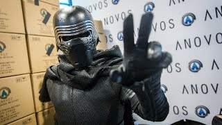 Download Adam Savage as Kylo Ren Incognito at Comic-Con 2016! Video