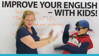 Download Practice your English by speaking with KIDS! Video