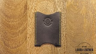 Download Making a Leather Wallet - The Card Sleeve Video