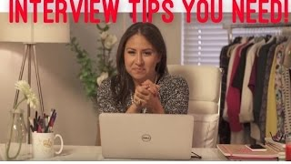 Download How to Ace an Interview! My interview Tips! | The Intern Queen Video
