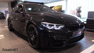 Download INSIDE the BMW M3 Competition Package 2018 | SOUND In Depth Review Interior Exterior Video