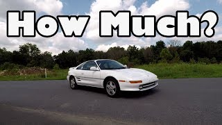 Download How Much Does A Toyota MR2 Turbo Cost? Video