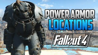 Download Fallout 4 - ALL FULL POWER ARMOR LOCATIONS! T45, T51, Raider, T60 & X-01 (FO4 Power Armor Locations) Video