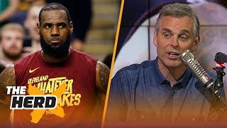 Download Colin Cowherd reacts to LeBron's Cavaliers losing Game 2 to the Celtics | NBA | THE HERD Video