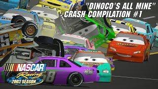 Download ″Dinoco's All Mine″ Crash Compilation | NASCAR Racing 2003 Season Video