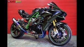 Download Xe & Phong Cách 24h - Kawasaki Ninja H2 vẻ đẹp khởi tạo từ Siêu phẩm Superbike. Video