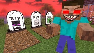 Download Monster School : HEROBRINE BECAME EVIL - RIP Enderman - Sad Minecraft Animation Video