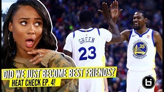 Download Are You Team KD or Team Draymond? Heat Check Episode 4 w/ Kayla Nicole! Video