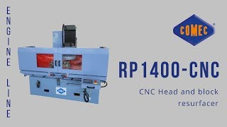 Download CNC Cylinder Head and Block Resurfacer – RP1400-CNC Comec Video