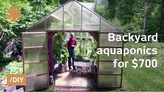 Download Backyard aquaponics: DIY system to farm fish with vegetables Video