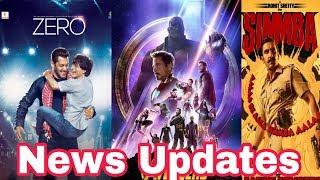 Download ZERO vs Simbha on a poll | Box office Prediction of Thugs Of Hindustan | Avengers 4 trailer | Video