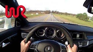 Download 2013 Mercedes-Benz CLS63 AMG - WR TV POV Test Drive Video