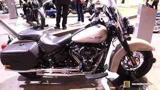 Download 2018 Harley Davidson Heritage Classic 114 - Walkaround - 2017 EICMA Milan Motorcycle Exhibition Video