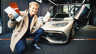Download CUSTOMISING MY AMG PROJECT ONE!! | NICO ROSBERG | eVLOG Video