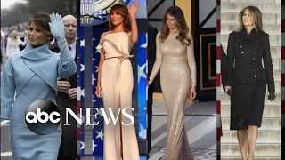 Download Melania Trump Using Fashion to Put 'America First' Video