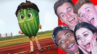 Download Reacting to the FUNNIEST Animations ft Reaction Time Infinite and Dangmattsmith Video
