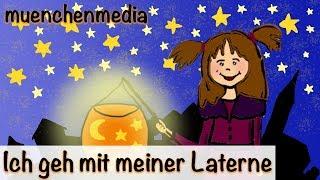 Download Ich geh mit meiner Laterne - Kinderlieder zum Mitsingen   Kinderlieder deutsch - Sankt Martin Video