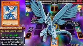 Download Yu-Gi-Oh! 5D's Tag Force 6 - Blue-Eyes Shining Dragon! Seto Kaiba Vs. Jack Atlas! Video
