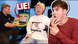 Download He was hiding the truth from me... (lie detector test) Video