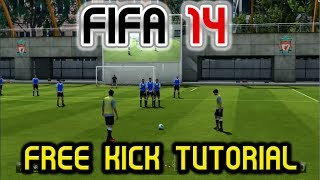 Download FIFA 14 Free Kick Tutorial - ″Score Everytime!″ - Two Techniques Video