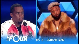 Download Elijah Connor: ″Diddy″ Tests Confident Artist With EPIC STAREDOWN! | S2E3 | The Four Video