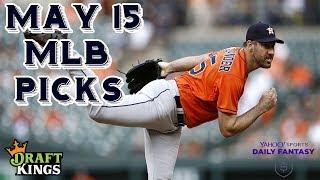 Download 5/15/19 MLB DraftKings & Yahoo Picks Video