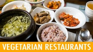 Download 8 Places to Eat Vegetarian in Korea (KWOW #176) Video