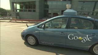 Download CNN test-drives Googles ″self-driving car″ Video