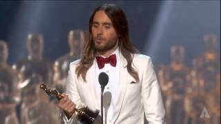 Download Jared Leto winning Best Supporting Actor Video